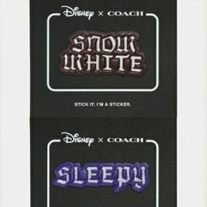 Coach Disney Fairytale Snow White & Sleepy sticker